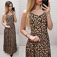 26a9ccd4f69 Летний леопардовый сарафан в Украине. Сравнить цены