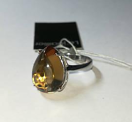 Серебряное кольцо с султанитом . Размер 18