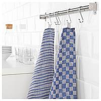 IKEA INDUSTRIELL Кухонное полотенце, синий  (504.022.12)