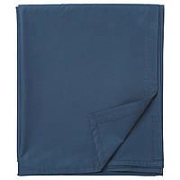 IKEA ULLVIDE Простыня с резинкой, темно-синий  (703.428.06)