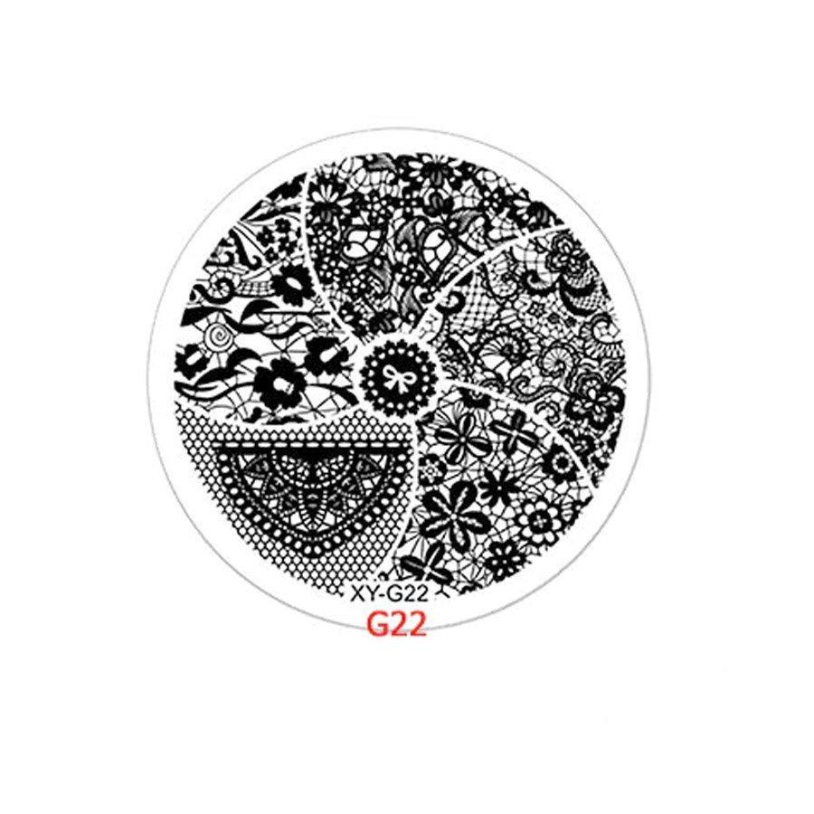 Диск для стемпинга №22