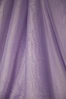 Шифон однотонный Бледно фиолетовый № С5