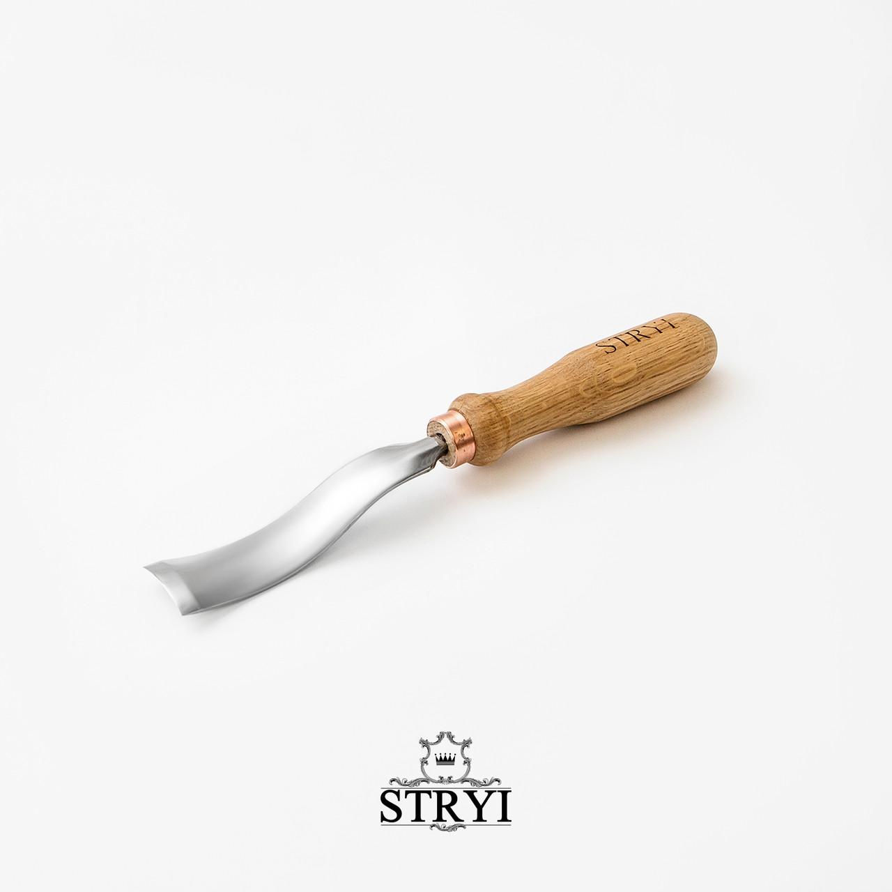 Обратная клюкарза 25мм для резьбы по дереву от производителя STRYI