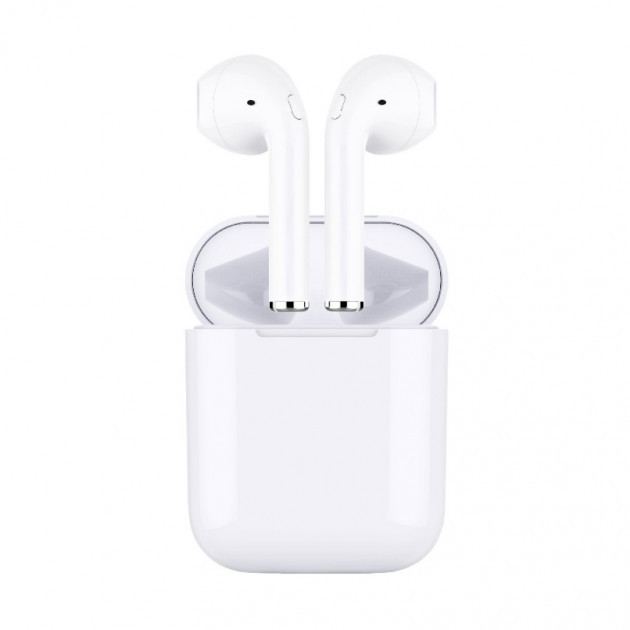Беспроводные Bluetooth наушники HBQ AIrFans i8X Mini white