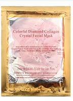 Коллагеновая маска для лица Colorful Diamond Collagen Crystal Facial Mask (розовая), фото 1