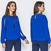 Красивая женская блуза с оригинальным рукавом с разрезами S, M, L, XL, фото 2