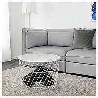 IKEA KVISTBRO Столик, белый  (503.222.39), фото 1