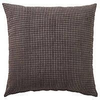 IKEA GULLKLOCKA Наволочка на декоративную подушку, серый  (703.166.85)