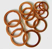 Кольца уплотнительные медные (толщина 1,0 мм)