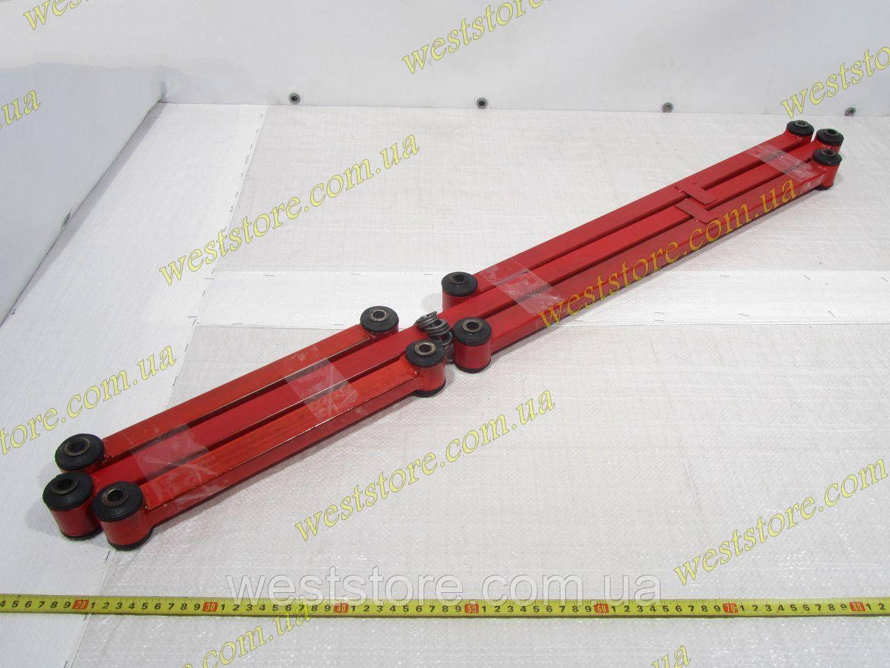 Тяги реактивные Ваз 2101 2102 2103 2104 2105 2106 2107 Плазма Спорт красные усиленные к-кт