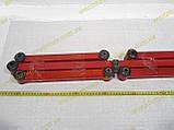Тяги реактивні Ваз 2101 2102 2103 2104 2105 2106 2107 Плазма Спорт червоні/сині посилені к-кт, фото 4