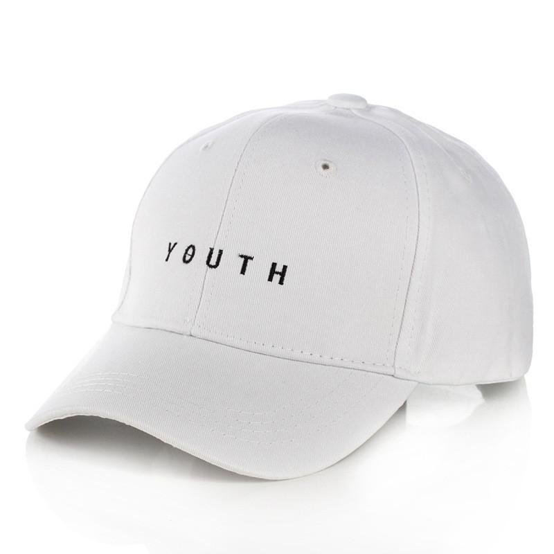 ✔️ Белая кепка бейсболка Youth