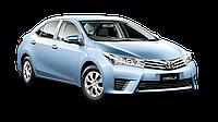 Накладка заднего бампера Toyota Corolla 2013-  (седан)