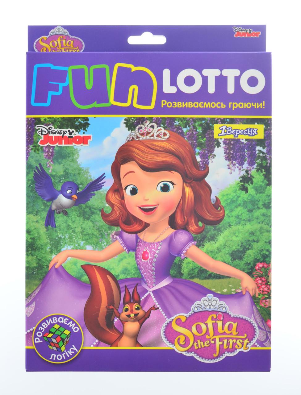 """Ігровий набір Funny loto """"Sofia"""""""