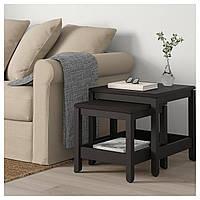 Стіл IKEA HAVSTA 2 шт., темно-коричневий (604.041.97), фото 1