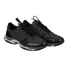 VM-Villomi Темные мужские кроссовки в комбинации текстиль и кожа