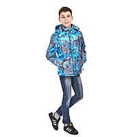Демисезонная куртка на мальчика 9-14 лет куртка подростковая 11068k