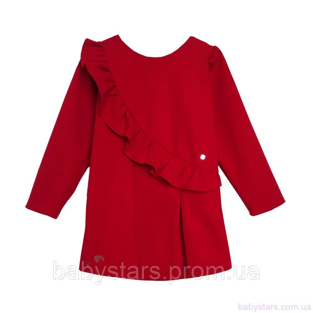 Платье для девочки, casual код: 7049, красного цвета, размеры: от 98 до 116