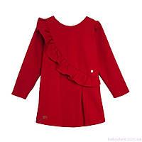 Платье для девочки, casual код: 7049, красного цвета, размеры: от 98 до 116, фото 1