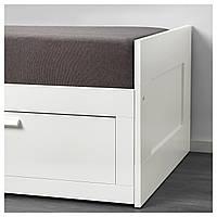 IKEA GRONG Чехол для раскладного дивана, темно-серый  (303.698.26)