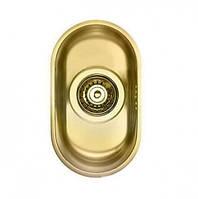 Мойка из нержавеющей стали под столешницу Alveus Variant Vintage 70 + PVD (золото), фото 1