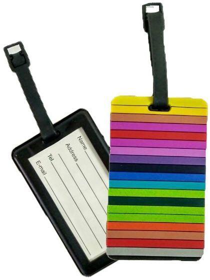 Бирка для чемодана Travelite Zigzag ACCESSORIES TL000015-912, разноцветный