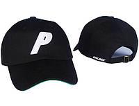Чёрная кепка бейсболка Palace skateboards