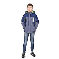 Стильная весенняя куртка на мальчика 12 лет подростковая демисезонная куртка  M6668