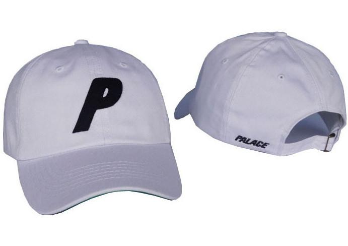 ✔️ Белая кепка бейсболка Palace skateboards