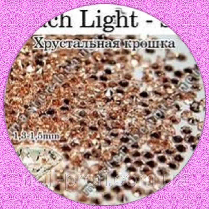 Камни Pixie Peach Lt 100 шт № 3  Master-Beauty