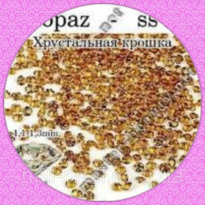 Камни Pixie Topaz Lt  100 шт № 2  Master-Beauty