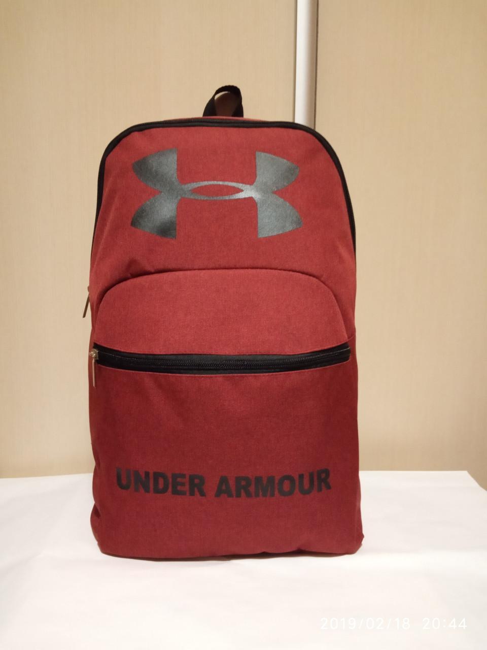Спортивный рюкзак Меланж (реплика), красный цвет ( код: IBR005R )