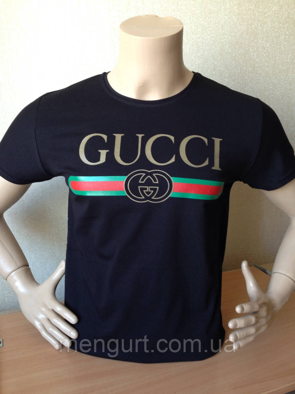 92dd31fe308 Футболка мужская молодежная гучи gucci 3d Турция - Оптовый интернет-магазин  мужской одежды