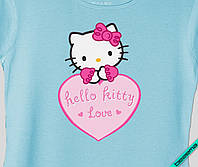 Переводки на комбинезоны термо Hello Kitty love [Свой размер и материалы в ассортименте]