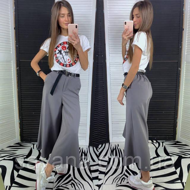 женские брюки-кюлоты