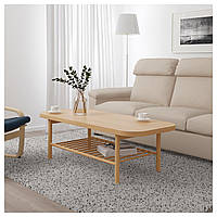 Журнальный столик IKEA LISTERBY, дуб окрашенный в белый цвет  (804.090.52)