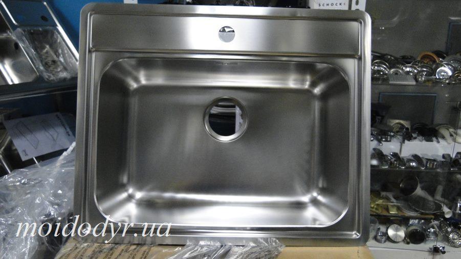 Мойка Blanco кухонная Lemis 6-IF в столешницу из нержавеющей стали