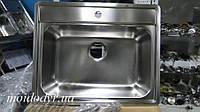 Мойка Blanco кухонная Lemis 6-IF в столешницу из нержавеющей стали, фото 1