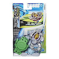 Бейблейд Луинор Л4 Hasbro Оригинал Турбо Beyblade Burst Turbo Slingshock Luinor L4 волчок бэйблэйд