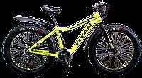 """Велосипед 26"""" Titan Crossover FT Neon Yellow"""