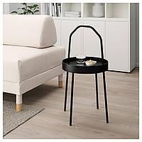 Стол IKEA BURVIK, черный  (703.403.84), фото 1