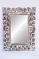"""Зеркало """"Ажур"""" в резной деревянной раме,80см*60см"""