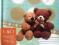 Детский фотоальбом на 100 фото UFO 10x15x100 медвежата