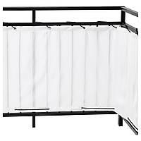 IKEA DYNING Балконний завіс, білий (803.407.84), фото 1