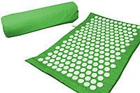 Массажный коврик Onhillsport Релакс аппликатор Кузнецова 55 х 40 см Зеленый (MS-1251)
