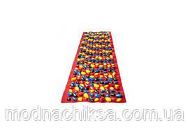Массажный коврик Onhillsport Ортопед 200 х 40 см Красный (MS-1269-2)