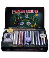 Набор для покера 300 фишек с номиналом