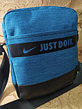 Барсетка сумка NIKE Мессенджер ткань для через плечо Унисекс спортивные стильная ОПТ, фото 2