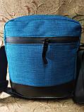 Барсетка сумка NIKE Мессенджер ткань для через плечо Унисекс спортивные стильная ОПТ, фото 4
