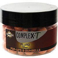 Бойлы Dynamite Baits CompleX-T Fluoro Pop-Ups & Dumbells 10mm 100g